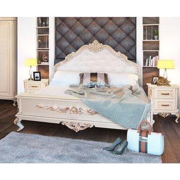 Деревянная кровать Жозефина