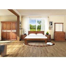 Спальня из дерева Квадро