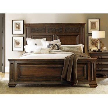 Деревянная кровать Escalera King 245260B