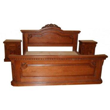 Деревянная кровать Тоскана