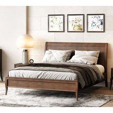Кровать деревянная ЭМИЛИ