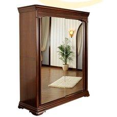 Шкаф-купе 2-х дверный Elegance Nuc с зеркалами