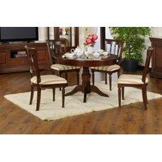 Комплект Elegance Nuc (стол круглый + 4 стула)