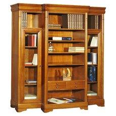 Шкаф библиотека JASMIN ТВ