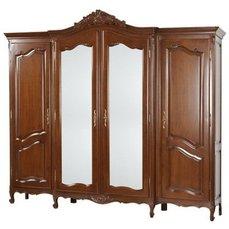 Шкаф 4-х дверный Mogador с зеркалами