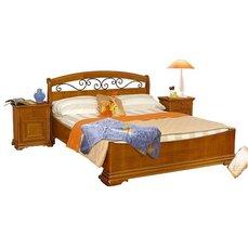 Кровать Elegance 1400 №3 с ковкой