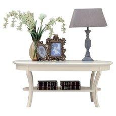 Столик журнальный Artemide овальный деревянная столешница AR634
