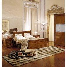 Кровать La Scala панель кожа 1600 SC02_2
