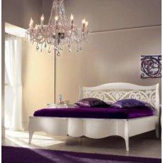 Кровать Charme 1800 изголовье орнамент 726/GB + GBPT