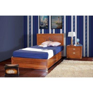 Детская кровать Old Navy 1200 с ящиком для белья KL2202_3+KL_CON_1