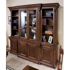 Книжный шкаф VENETIA LUX 2 дв