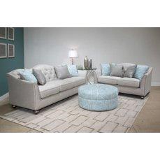 Комплект мягкой мебели Janie Silver U3446-20-30-09
