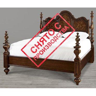 Деревянная кровать Escalera King 245290B