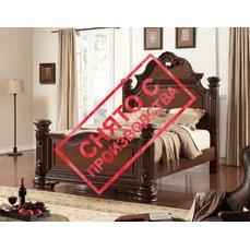 Деревянная кровать QUEEN B3541-01-02-03