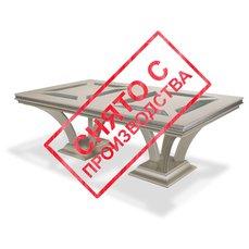 Стол обеденный HOLLYWOOD SWANK NU03002T-11-NU03002B-08