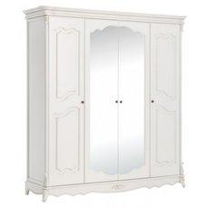 Шкаф 4-х дверный Adel с зеркалом