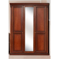 Шкаф 3-х дверный Angelica с зеркалом