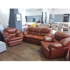 Комплект мягкой мебели 2 Baron кожа