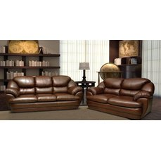 Комплект мягкой мебели 3+2 Baron кожа