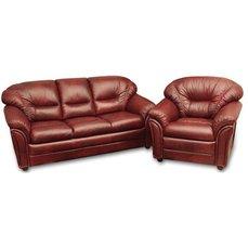 Комплект мягкой мебели Plaza кожа
