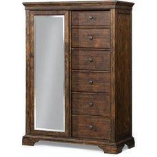 Комод высокий Trisha Yearwood 920-680 с зеркалом