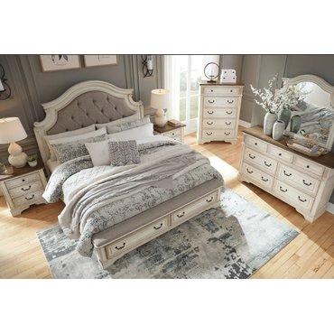 Двуспальная кровать Realyn B743-54s-57-196 с ящиками