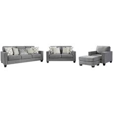 Комплект мягкой мебели Barrali 13904-14-20-35-38