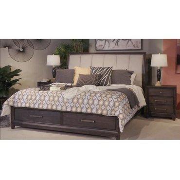 Деревянная кровать Brueban B497-56S-58-97 с ящиками KING