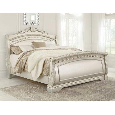 Деревянная кровать Cassimore B750-174-175-177 Queen