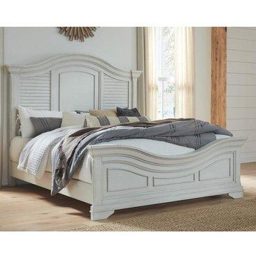 Деревянная кровать Teganville B755-54-57-96W1 Queen