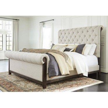 Деревянная кровать HILLCOTT B798-81-96 QUEEN