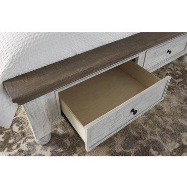 Деревянная кровать Havalance B814-50s-71-98 QUEEN с ящиками