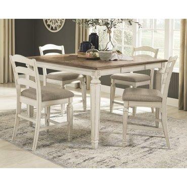 Барный стол со стульями Realyn D743-32-124