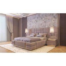 Кровать с широким изголовьем Real Relax