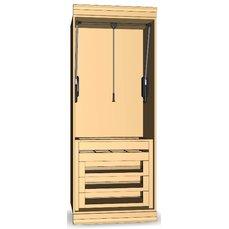 Шкаф для гардеробной комнаты 23-14