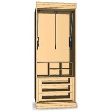 Шкаф для гардеробной комнаты 23-15