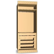 Шкаф для гардеробной комнаты 23-16