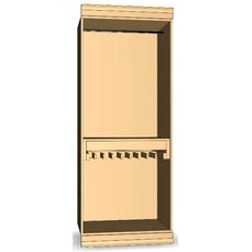 Шкаф для гардеробной комнаты 23-03