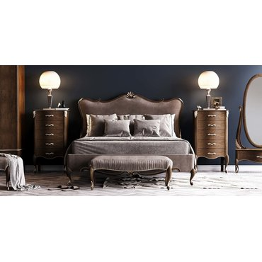 Кровать деревянная ЖЕНЕВА Премиум Queen