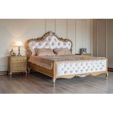 Кровать деревянная высокое изножье ИМПЕРИЯ Queen