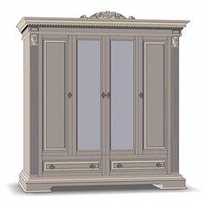 Шкаф для одежды 4Д2Ш КАРОЛИНА