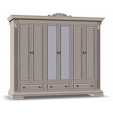 Шкаф для одежды 6Д3Ш КАРОЛИНА