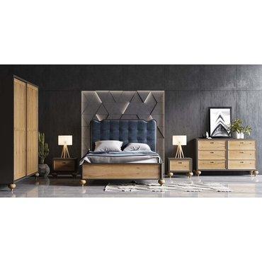 Кровать деревянная МАРАКЕШ King
