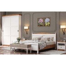 Кровать деревянная Портал МАРСЕЛЬ King
