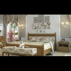 Кровать деревянная Текстиль МАРСЕЛЬ King