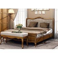 Кровать деревянная высокое изножье ПАЛЕРМО Queen