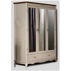 Шкаф для одежды 3Д2Ш ПАЛЕРМО с зеркалом