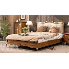 Кровать деревянная низкое изножье ПАЛЕРМО Queen