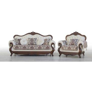 Комплект мягкой мебели ИМПЕРИЯ 3+1