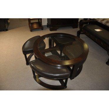 Стол журнальный со стульчиками Marion T477-8